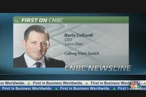Julius Baer CEO: Positive Momentum of First Half Should Carry into Second