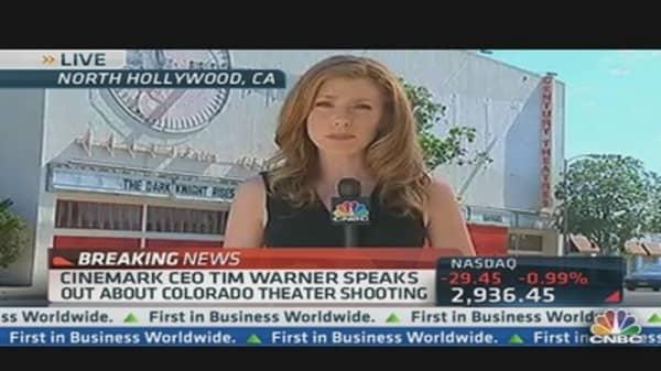 Cinemark CEO Tim Warner Speaks Out on Shooting