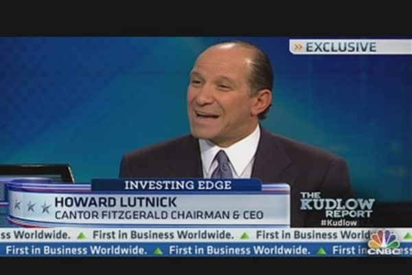 Cantor Fitzgerald CEO Sees Opportunity in Commercial Realty