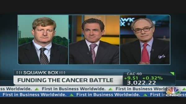 The Public & Private Battle to Fund Cancer Research