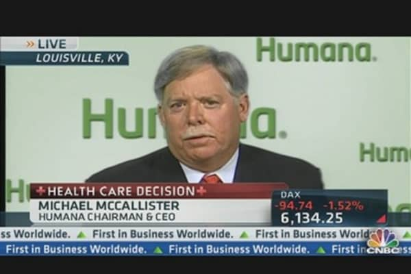 Humana CEO on Health Care Overhaul