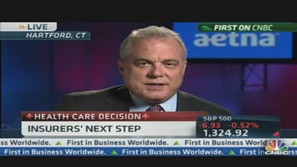 Aetna CEO Offers Clues on Insurers' Next Steps