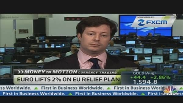 Money In Motion: Play the Euro on EU Plan?