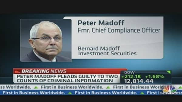 Peter Madoff Pleads Guilty!