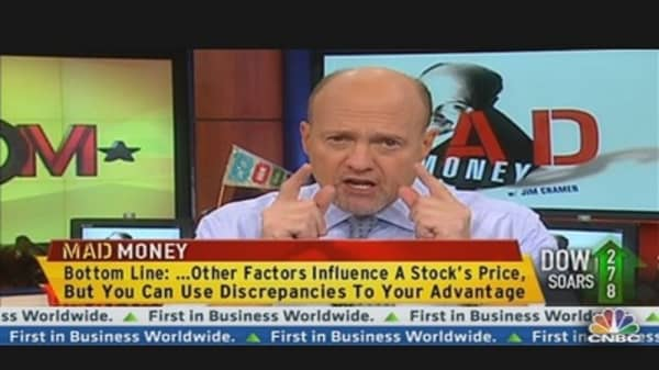 Cramer: The Company & Its Stock Are Not the Same