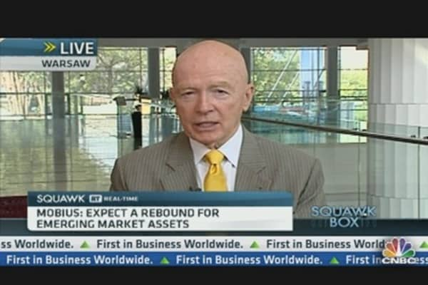 Europe Should Sell to Emerging Markets: Mobius