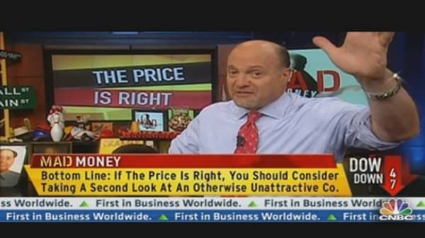 Cramer: When the Price is Right...