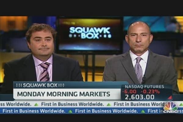 Monday Morning Market Moves