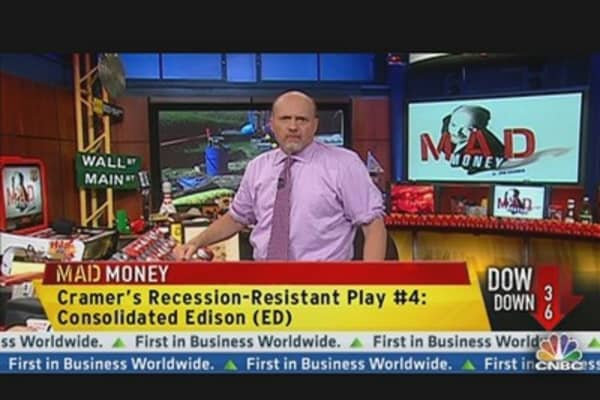 Cramer's Recession-Proof Portfolio Advice