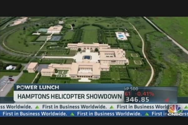 Hamptons Helicopter Showdown