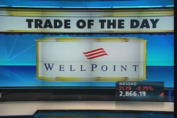 Trade of the Day: WellPoint 'Very Cheap'
