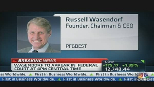 PFGBest's Wasendorf Arrested