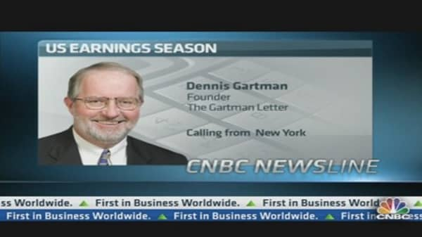 We Will See Much Better Earnings from Banks in Q3: Gartman