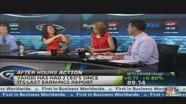 Yahoo Beats on Earnings, Revenue Light