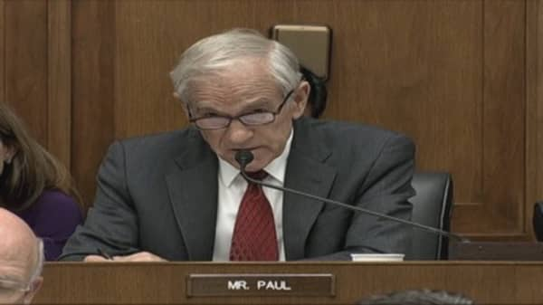Rep. Paul: 'Congress Ought to Get a Backbone'