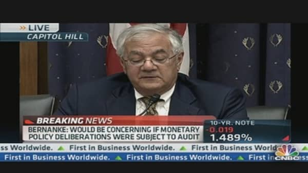 Rep. Barney Frank: Fed Risking Inflation?