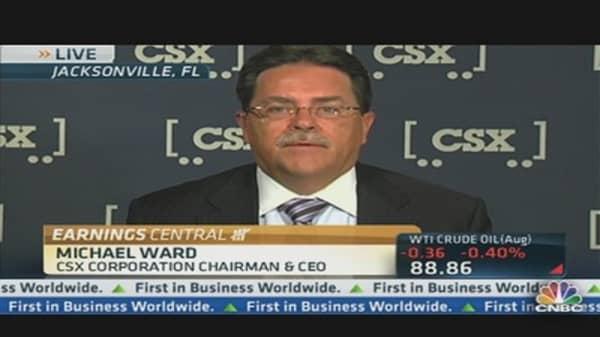 CSX CEO on Q2 Earnings