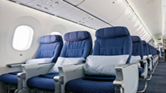 United Airlines New Boeing 787 Interior