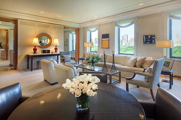 """Unidentifiedhigh floor (HIFLR) — Coop: $50,000,00018 rooms, 6 bedrooms, 6.5 baths; approx. 5,000 sq. ft.This is what they mean when they say """"white-glove"""" New York exclusivity. This full-floor apartment, in a building built in 1925, features Italian Renaissance palazzo style and was featured in """"Architectural Digest.""""You get plenty of windows — 30 in all — to gaze out above the trees of Central Park, plus a separate guest apartment with a private entrance."""