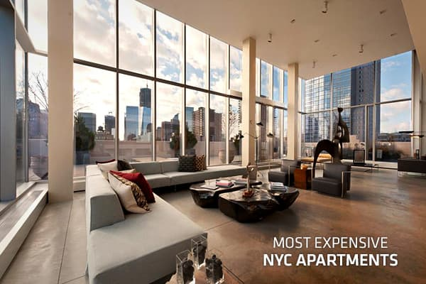 Most expensive apartments in new york city for Most expensive penthouse in nyc