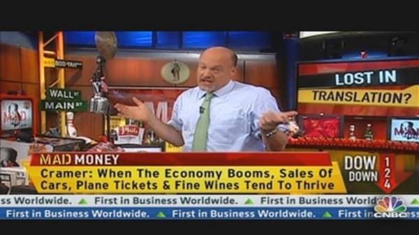 Cramer Explains Wall Street 'Gibberrish'