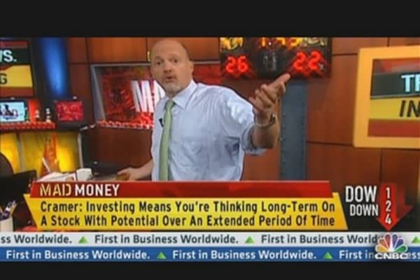 Cramer: A Trade Is Not the Same As An Investment
