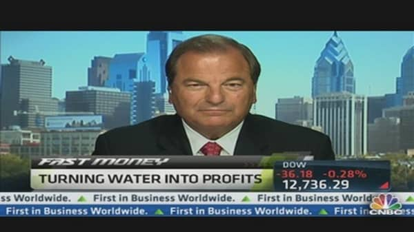 Aqua America CEO: PVR Water Services & Natural Gas
