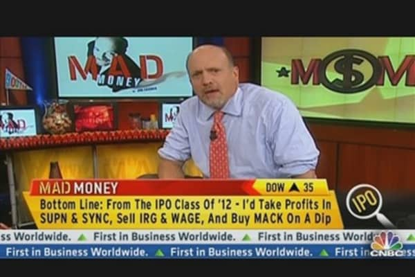 Cramer's Top Picks from the IPO Class of 2012