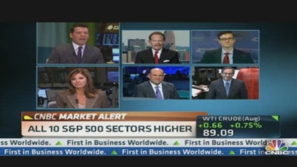 Stocks Move Higher on Hopes of More Fed Action