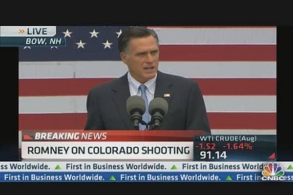 Mitt Romney: 'Unspeakable Tragedy'
