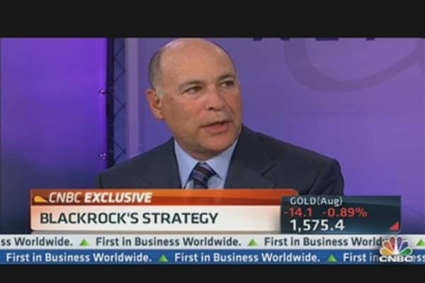 BlackRock's Kapito: Move Out of Cash