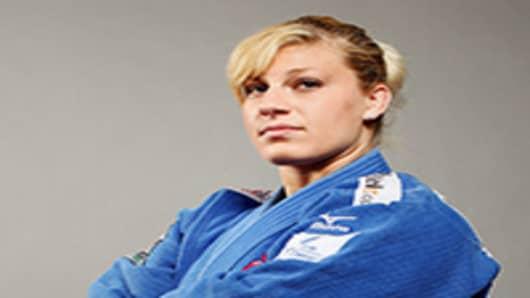 U.S. Olympian Kayla Harrison