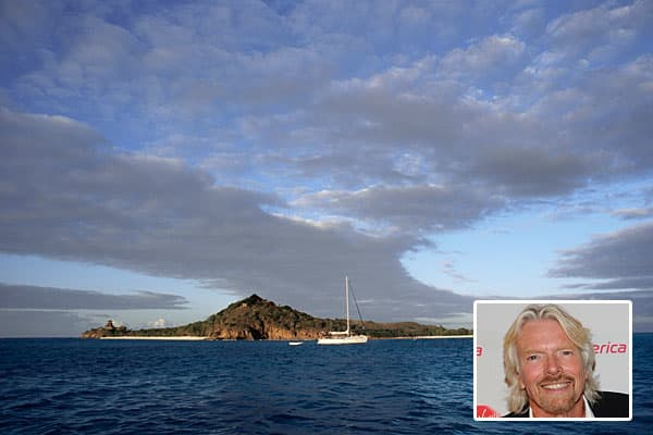 Owner: Richard BransonEstimated value: $100 millionVirgin Group's Richard Branson bought Necker Island in the British Virgin Islands for about , and the island is now worth an estimated $100 million.The flamboyant British billionaire turned the 74-acre island into a luxury retreat in 1984 with Balinese style houses run by 60 private staff. The resort can provide accommodation for up to 28 people and individual rooms for a week-long gateway can cost up to $35,000. Renting the entire island is rep