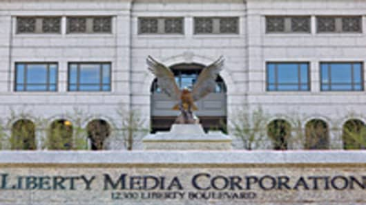 The headquarters building of Liberty Media Corp. stands in Englewood, Colorado, U.S.