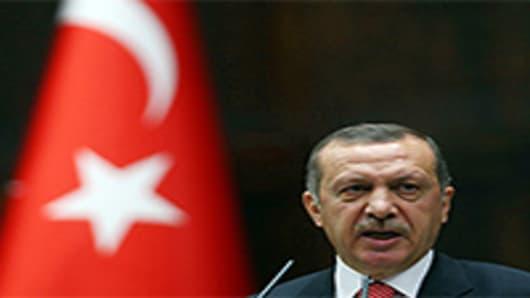 Turkish Prime Minister Recep, Tayyip Erdogan