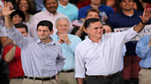 Romney continues his four day bus tour a day after announcing his running mate, Rep. Paul Ryan.