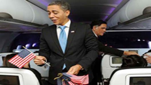 Virgin America Inaugural Flight