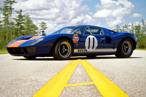 1966 Ford GT40 & The 10 Most Beautiful Cars of All Time markmcfarlin.com