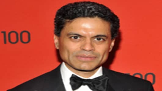 Journalist Fareed Zakaria attends the TIME 100 Gala, TIME'S 100 Most Influential People In The World at Frederick P. Rose Hall, Jazz at Lincoln Center on April 26, 2011 in New York City.