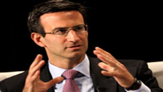 Peter Orszag, vice chairman of global banking for Citigroup Inc.