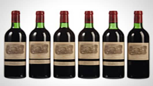 Christie's first online exclusive wine sale.