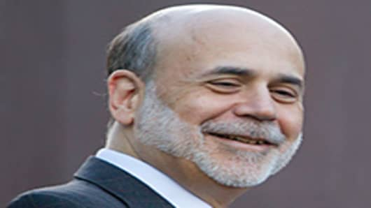 Bernanke at Jackson Hole in 2010 when he hinted about QE2