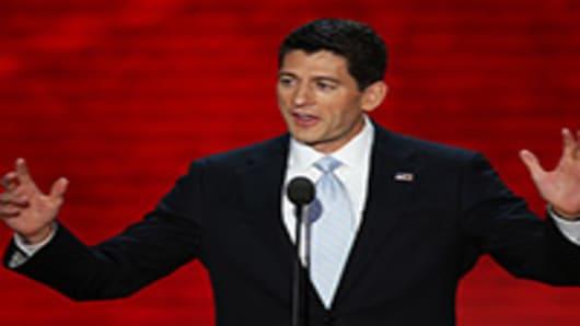 Republican vice presidential candidate, Rep. Paul Ryan.