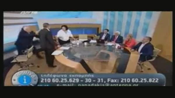 Far Right MP Assaults 2 Women on Live TV