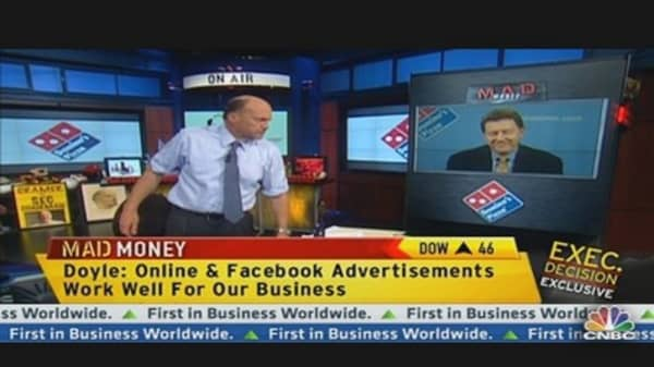 Domino's CEO Says Overseas Business Beats US
