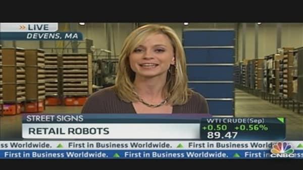 Retail Robots at Quiet Logistics
