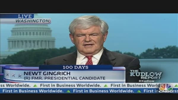 Tweeting Newt Gingrich