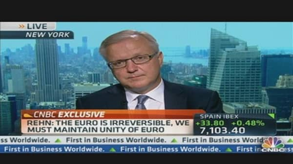 Olli Rehn: Building EU Monetary Union 2.0