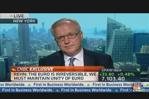 Olli Rehn: Building EU Monetary Union 2.0
