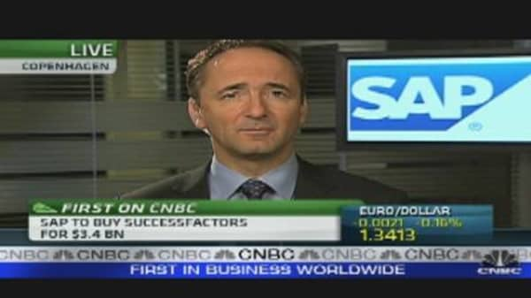SAP in $3.4 Billion Cash Deal to Buy US Group SuccessFactors